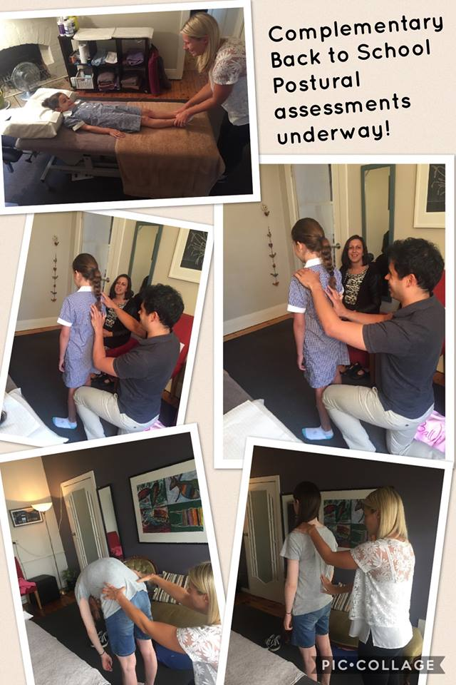 Darling Corner Osteopathy Back to School Postural Assessments