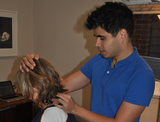 Darling Corner Osteopathy - Simon May Working Picture